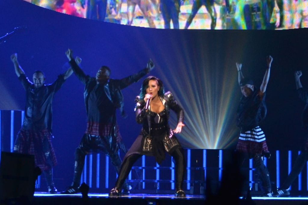 Demi Lovato Takes Down The House
