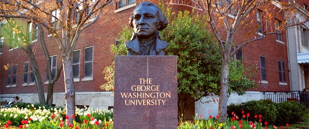GWU list of top party colleges