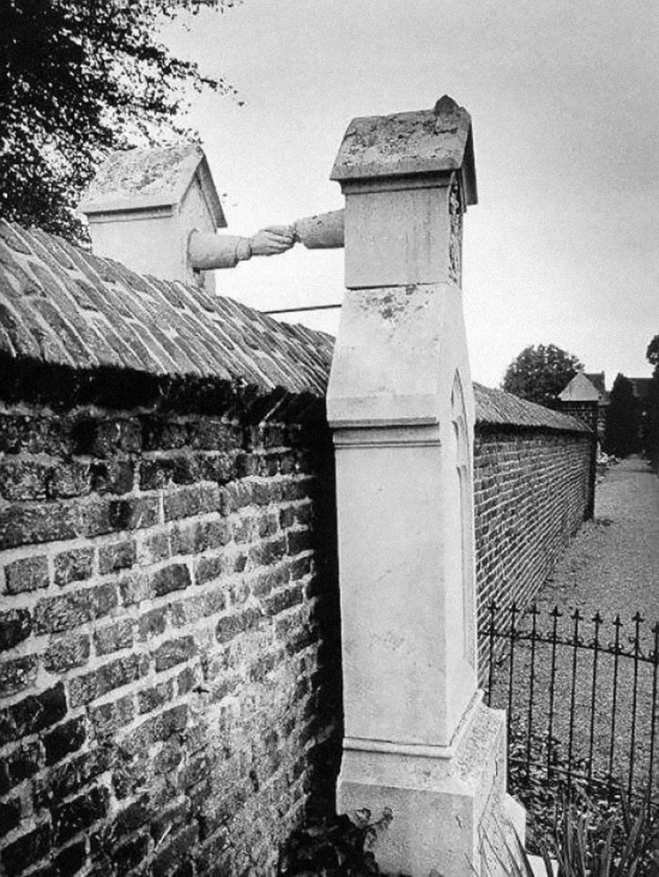 Catholic Woman & Protest Husband Graves