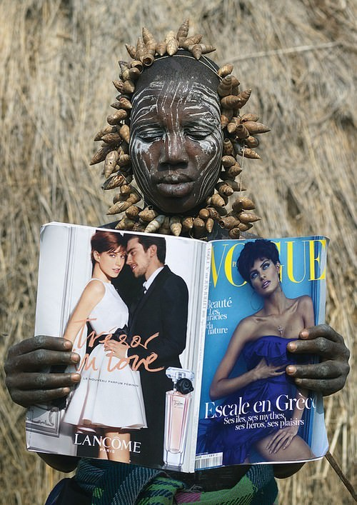 Ethiopian Woman Discovers Vogue