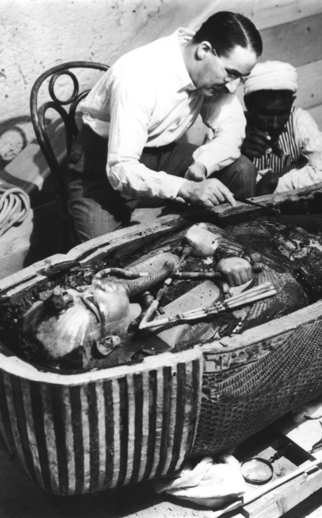 First Examination of King Tut