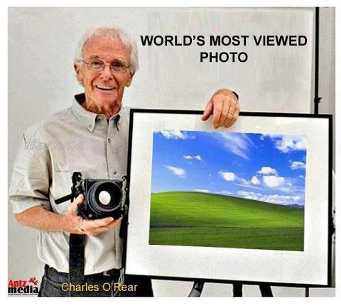 Guy that Took Windows Wallpaper Picture