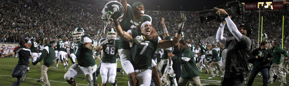 michigan-state list of top party schools