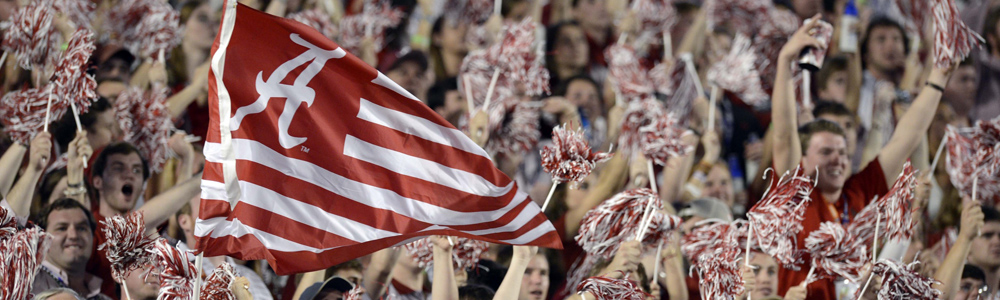 u-alabama list of top party colleges