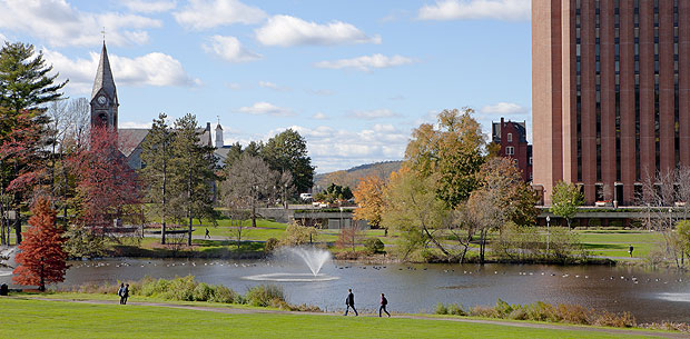 UMass Amherst list of top party colleges