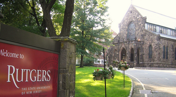 Rutgers list of top party colleges