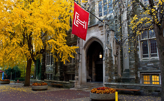 Temple list of top party colleges