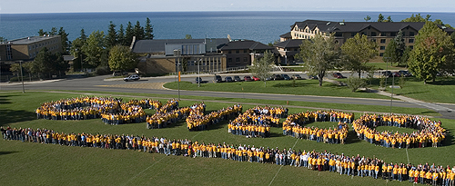 OSWEGO spelled out