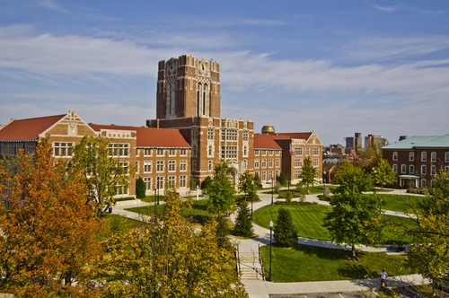 Tennessee list of top party colleges