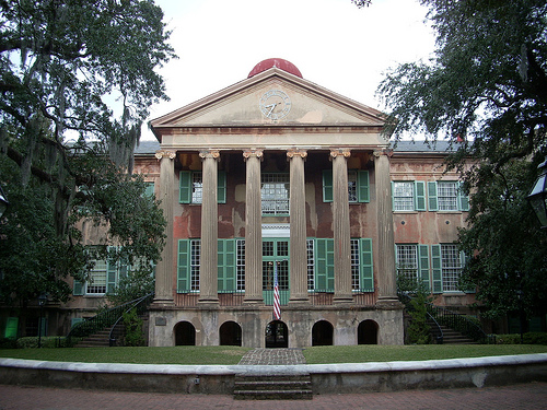 College of Charleston list of top party colleges