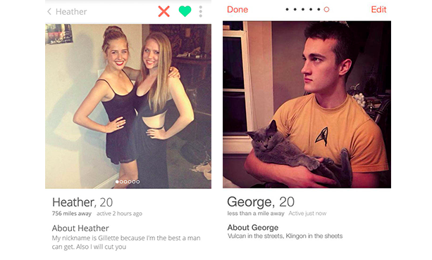 Types of tinder