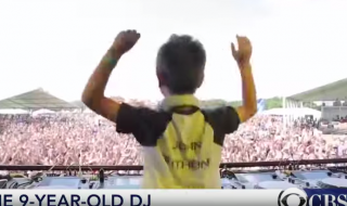 9-year-old DJ is taking the world by storm