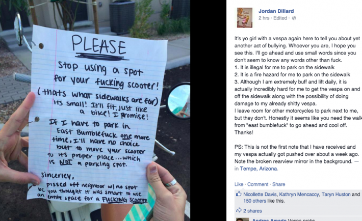 ASU Girl Receives Hilarious Letter From Neighbor That Made Our Day ... a7cbc7590