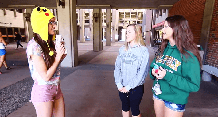 Hot College Girl Asks Chico State Girls If Its Ok To Be Friends With An Ex